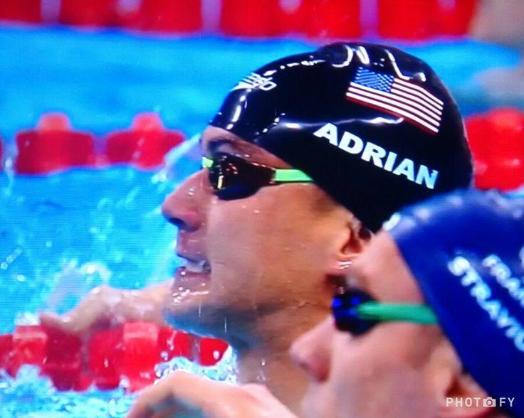 YAAAAS!! Ouro no revezamento 4x100 livre masculino para Phelps, Adrian, Dressel e Held #rio2016 #teamUSA