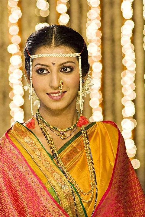 Marathi bridal makeup ideas