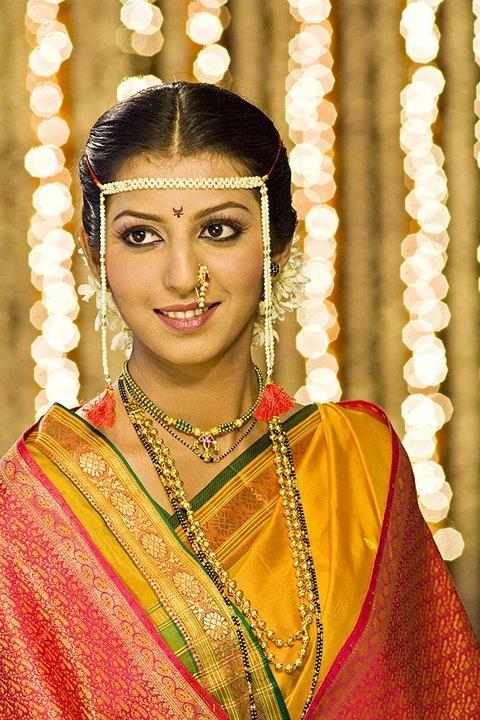 Marathi bridal makeup ideas