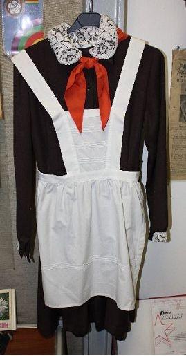 Soviet school uniform for girls
