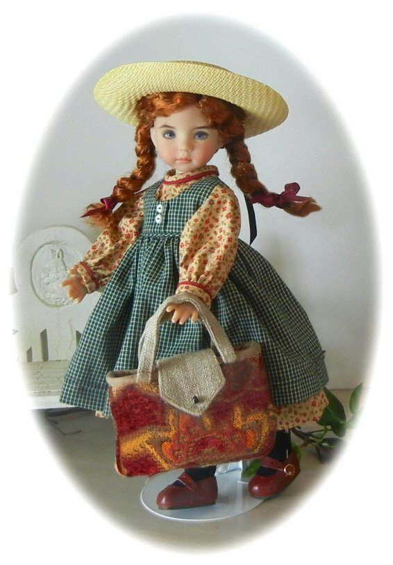 "ANNE AT THE STATION OUTFIT 4 EFFNER 13"" LITTLE DARLING ANNE GREEN GABLES"