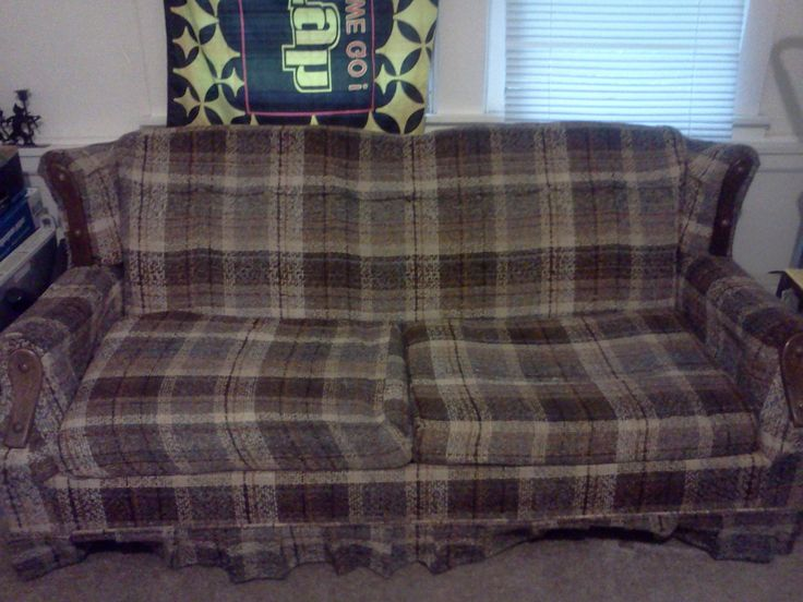 Sleeper Sofa in kkitten93's Garage Sale in East McKeesport , PA for $25. Full size mattress in sofa bed. Not very comfortable to sit on for long periods, but nice to sleep on. Can be moved in a minivan with seats removed.