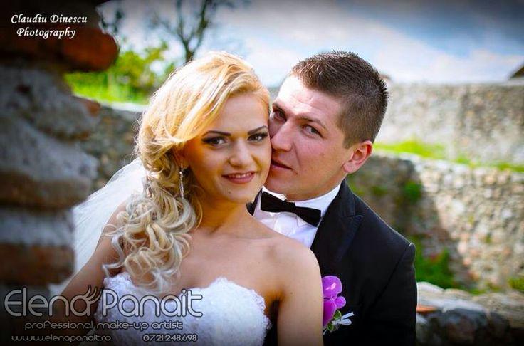 Machiaj&Coafat de mireasa http://elenapanait.ro/portofoliu/bride/