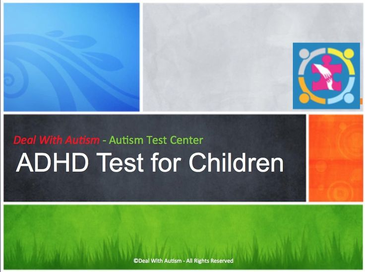 Voted #1 ADHD Test for Children and Adults. Take this 15 minutes online quiz to find out whether you/your child has ADHD! Get Instant assessment results