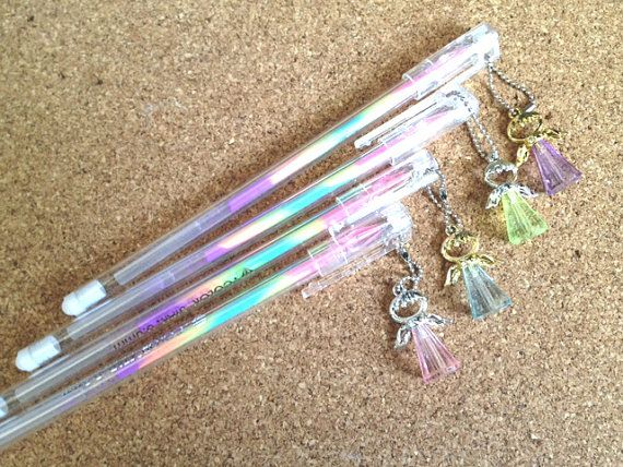 Angel Color Pen Mini Angel Rainbow Color Fluorescent Gel