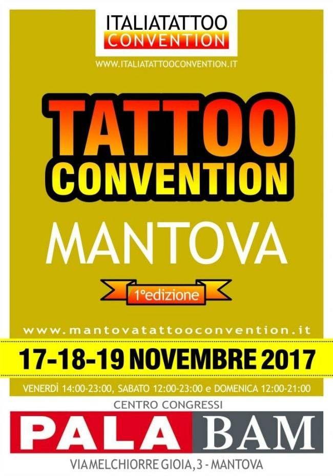1° Mantova Tattoo Convention   Tattoo Filter