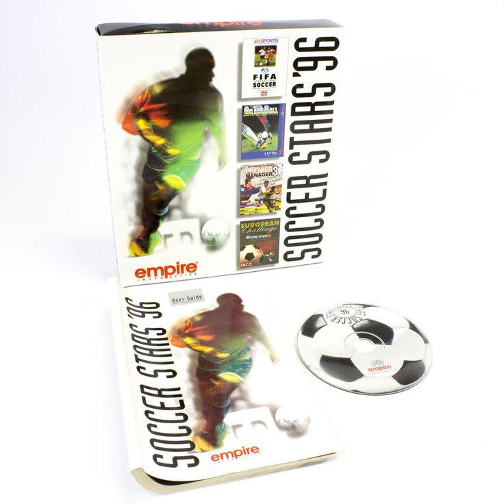 Soccer Stars 96 PC, FIFA International Soccer, Kick Off 3, Premier Manager 3