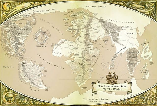 The 25 best world map game ideas on pinterest rpg world create warhammer world map gumiabroncs Images