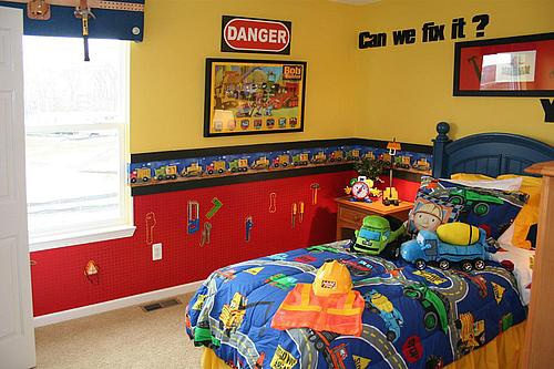 O0o0o0 i like construction room ideas for a little boy for Boys construction bedroom ideas
