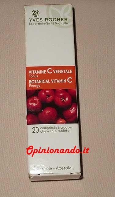 Yves Rocher Vitamina C vegetale - #Opinionando #recensione