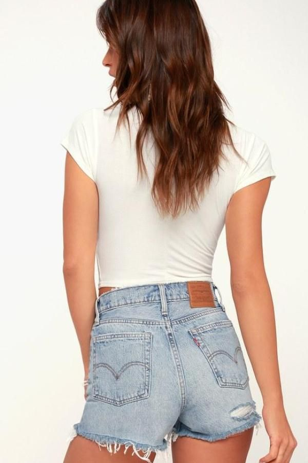 97829b55ee How Fashion It Girls are Wearing Denim | Denim Style | Distressed ...