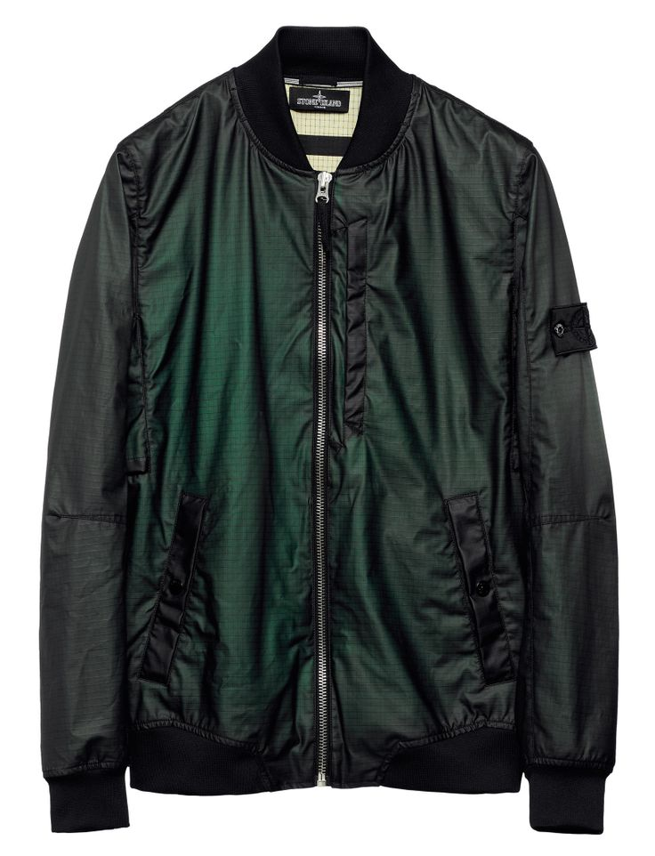 Stone Island Shadow Project Spring Summer '014 www.stoneisland.com  40503 BOMBER JACKET_GRID-R INVERSE