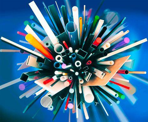 Shapes of engineering plastics