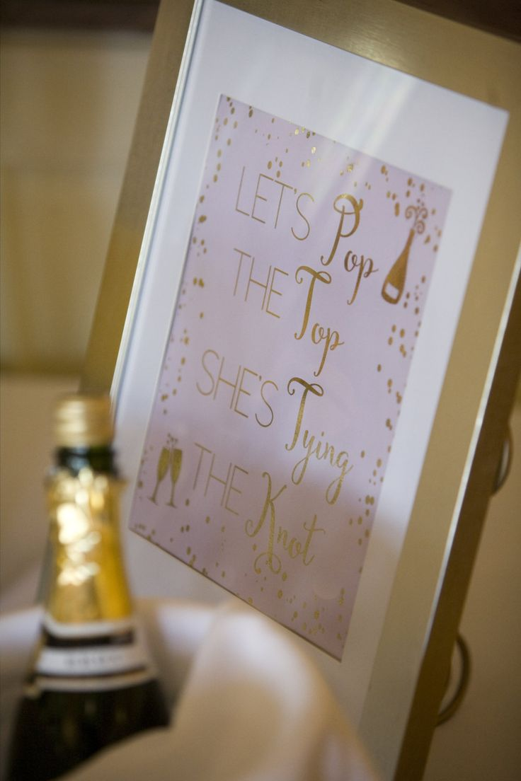 Let's Pop the Top She's Tying the Knot Foil 8x10 Print, Champagne Foil Print, Champagne Foil Print, Bar Foil Print, Bridal Shower Print Sign by CelebrationsbyMaria on Etsy