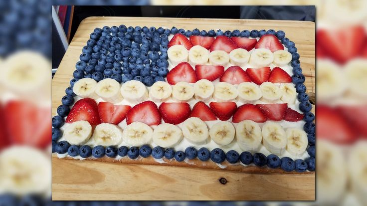 KARE 11's Alicia Lewis shares her favorite 4th of July recipe 4th of July Fruit Pizza.