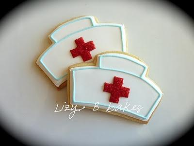 Nurse themed cookies