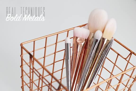 Absolutely LOVING the Real Techniques Bold Metal Brush Collection that's just arrived into stock! Make sure you add one (read: ALL!) to your next order.