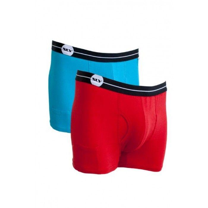 Sly Underwear Trunks | Boxer Briefs - 2 Pack #Underwear #Trunk #MensUnderwear #2Pack