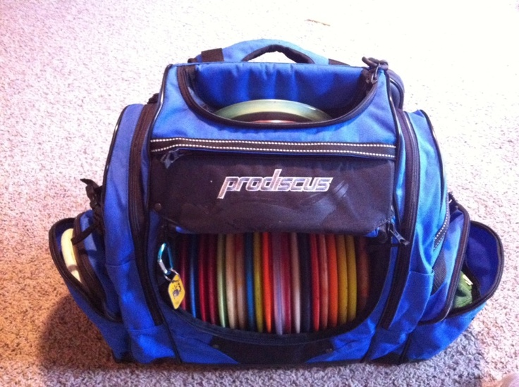 Prodiscus backpack - Page 54 - Disc Golf . Love this disc golf bag!