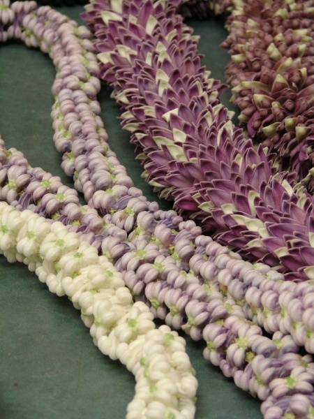crown flower leis