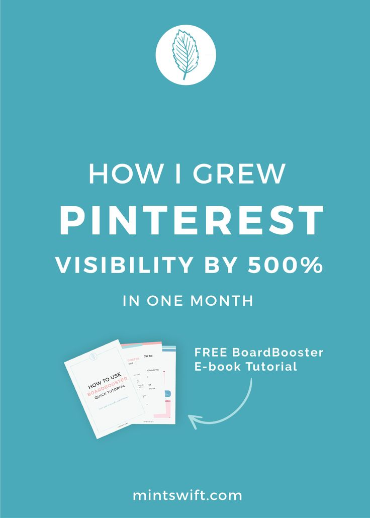 Pinterest is probably the best way for traffic to your blog. Want to know how I increased my traffic with Pinterest? I'd love to share my exact steps which helped me grow my visibility by 500% in just one month, using Pinterest with minimum effort because it is largely automated! | Do you struggle with Pinterest, you're not sure how to make it work? Learn more about BoardBooster and download free step-by-step e-book tutorial in this blog post.