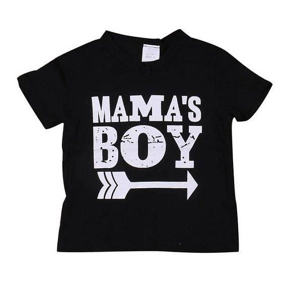 Mamas Boy Printed Tee