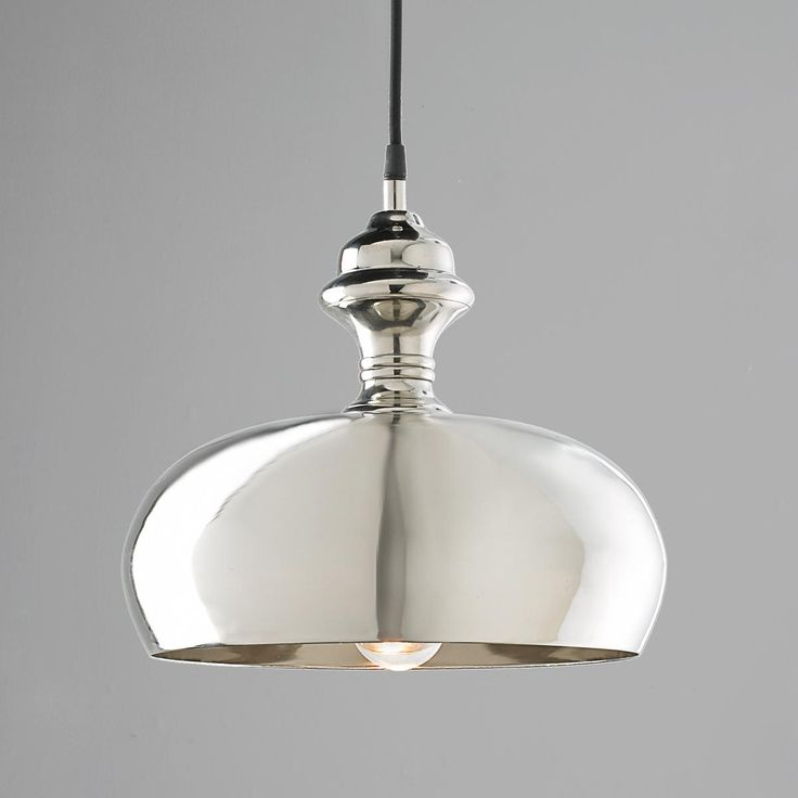Silver Onion Dome Pendant Light 119