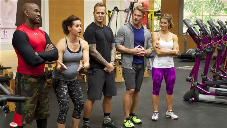 """As a guest trainer on NBC's """"The Biggest Loser,"""" Jenna Wolfe taught the show's contestants this challenging workout in an episode that..."""