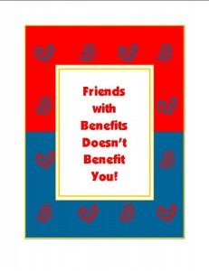Senior dating is about know your boundaries.Friends with benefits usually leaves one person wanting more. Not just for kids!