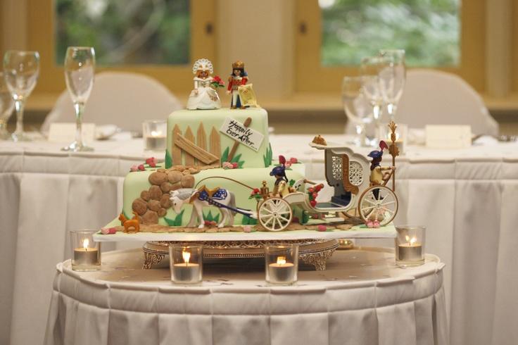 Our Playmobil wedding cake January 2007