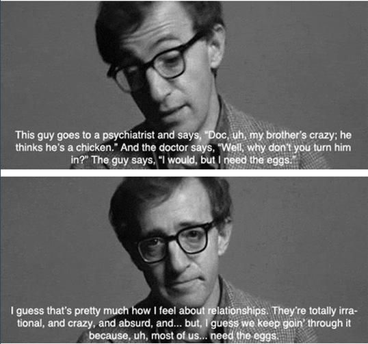annie hall quote shark - Google Search