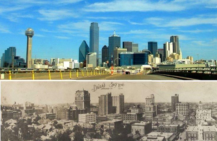 Dallas: Then and Now | Travel Memories: Dallas, Texas ...