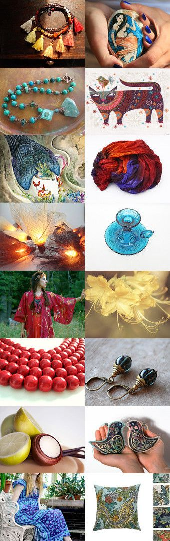 Hot oriental summer by Skadia Bojakowska-Radwan on Etsy--Pinned with TreasuryPin.com