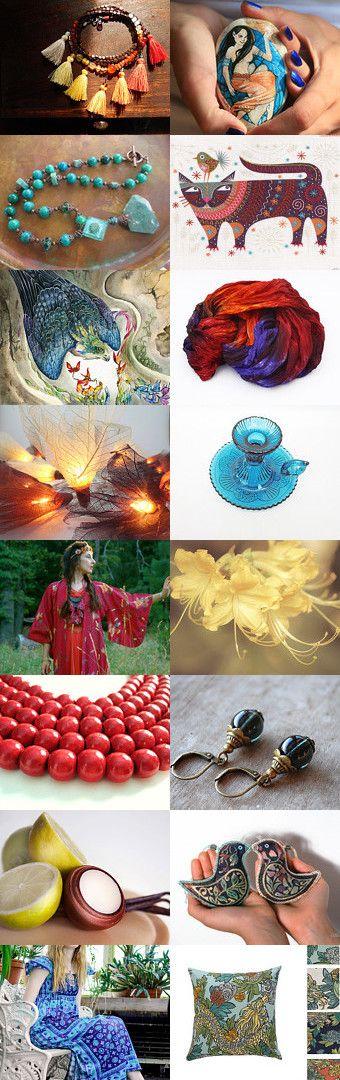 Hot oriental summer by Skadia Bojakowska-Radwan on Etsy--Pinned with TreasuryPin.com
