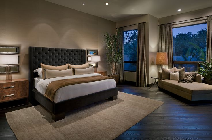 Luxury Interior Design | Ownby Design | Modern Master Bedroom Suite |  Http://