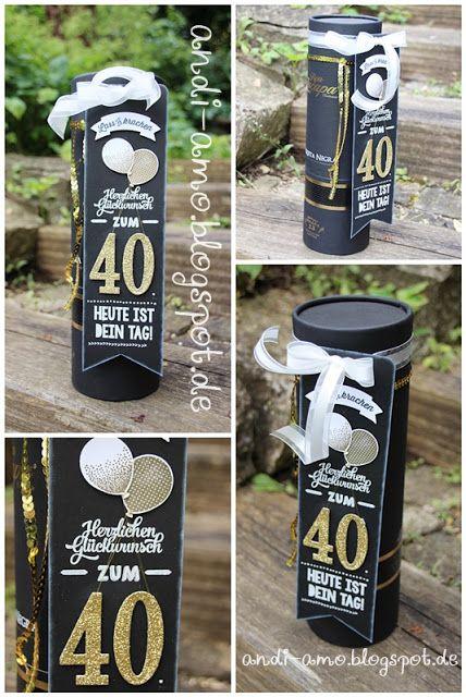 andi-amo Banner im Chalkboard-Look mit Stempeln und Stanzen gefertigt auf www.andi-amo.blogspot.de #Chalkboard #Flaschenhänger #StampinUp #FramelitsGroßeZahlen