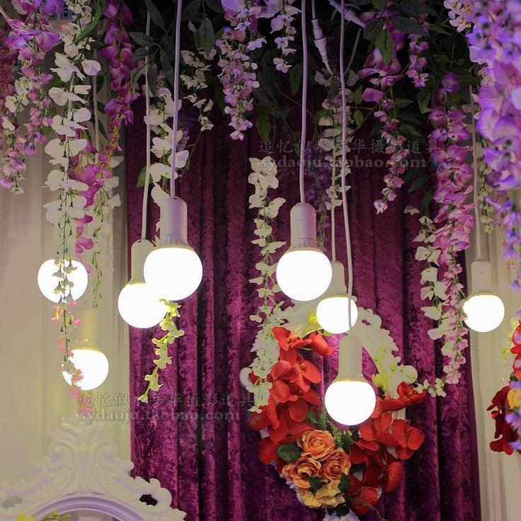 10 Pearl лампа дорога ведет свадьбы поставок дорога ведет Драконий жемчуг: сценическое освещение люстра висит окно лампа украшения - Taobao