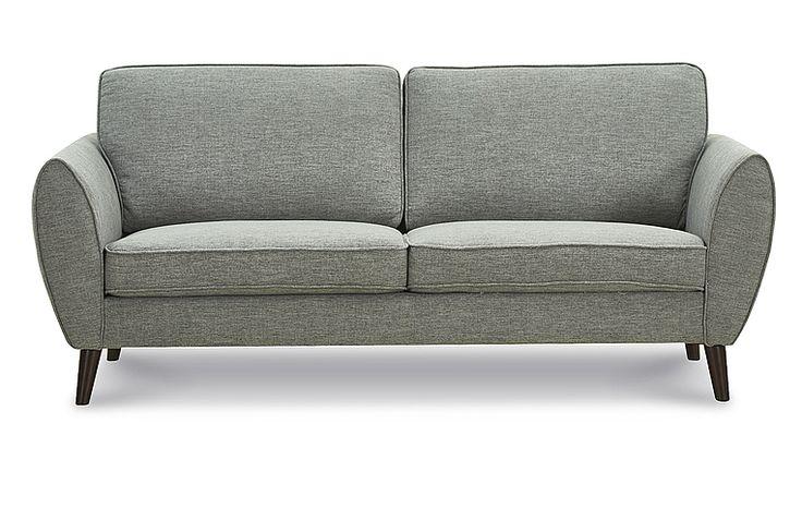 Диван Rimini 3-х местный, темно-серый   Купить по цене 41 630 р. в интернет-магазине iModern.ru