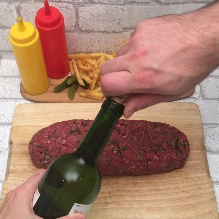 la carne molida engorda