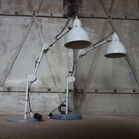 Industriële bureaulamp