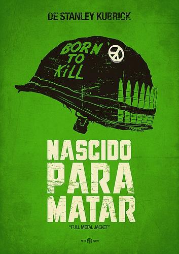 Poster - Nascido para Matar (Full Metal Jacket)