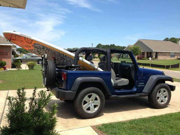 Paddle Board Rack For Jeep Wrangler Cosmecol