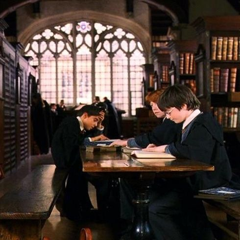 """Hogwarts Library (Duke Humphrey's Library, Oxford University) 