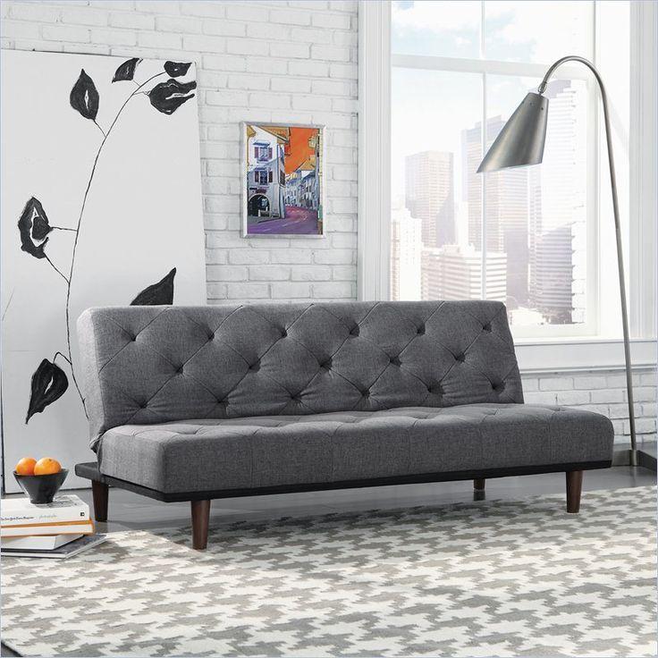 Unique Office Sofa Bed Sauder Premier Crash Convertible In Dark Grey Intended Design Ideas