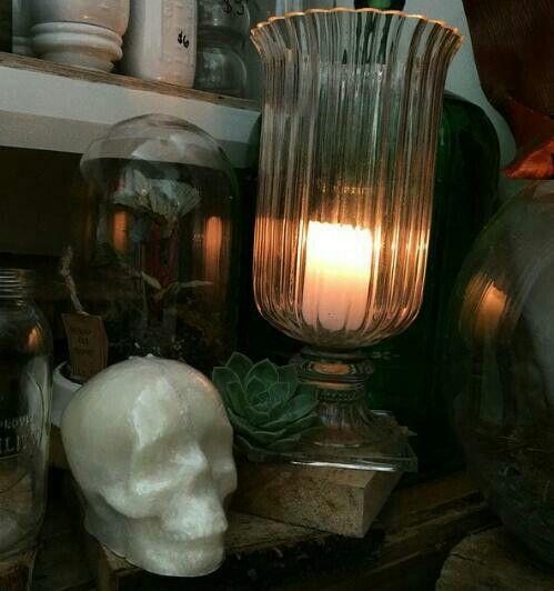 Skull Candle ~ lightlatherbybel.bigcartel.com