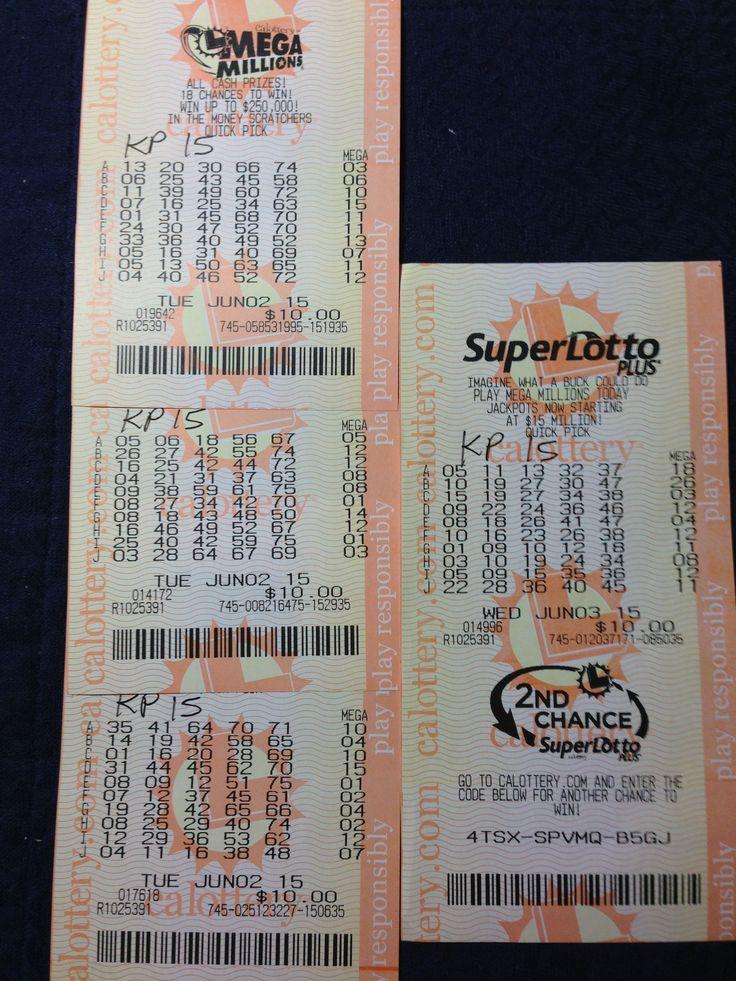 Mega & Super Lotto June 2-3, 2015