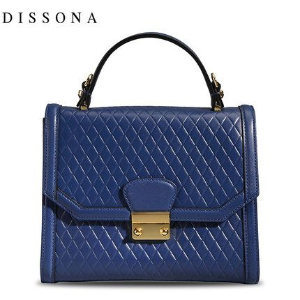 DISSONA Disang Na 2014 new fall the most elegant lozenge tide fashion handbags shoulder handbag -tmall.com Lynx
