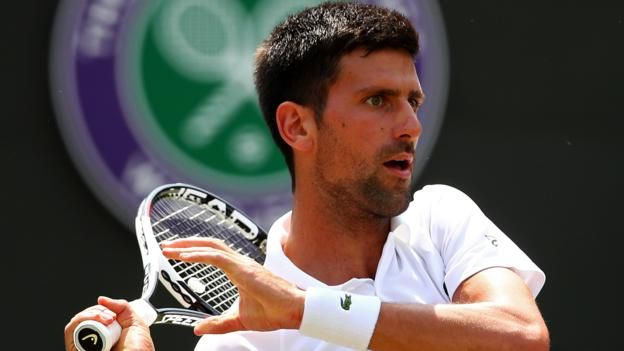 Novak Djokovic has reached the third round for the ninth straight year     Wimbledon 2017 on the BBC     Venue: All England Club Dates: 3-16 July Starts: 11:30 BST   Live: Coverage across BBC TV, BBC Radio and BBC Sport website with further coverage on Red Button, Connected TVs and app. Click...