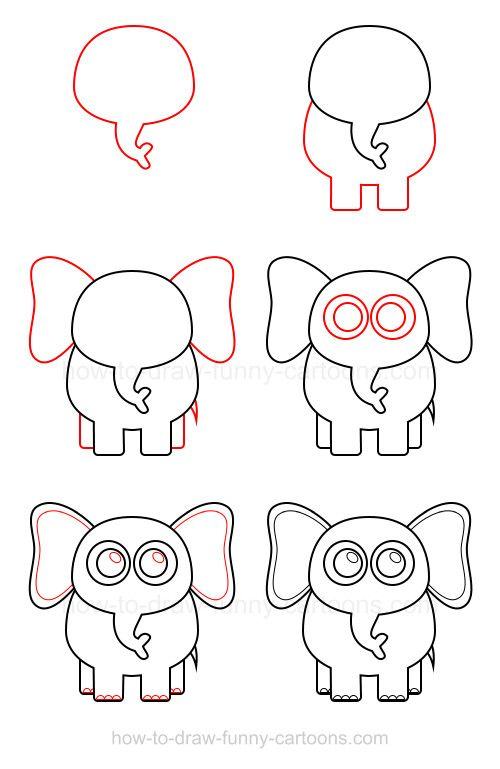 A huge tutorial on how to draw an elephant for a huge animal that deserves all this attention!