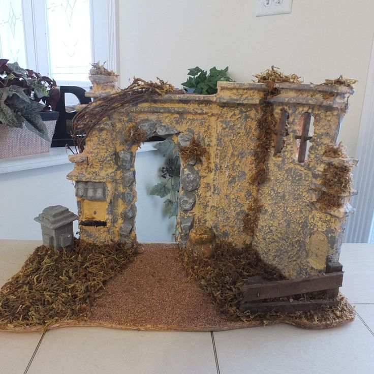 LLADRO NAO NATIVITYMANGER STABLE OR CRECHE. THAT BELONG TO THIS NATIVITY SET. MINT CONDITION.   eBay!